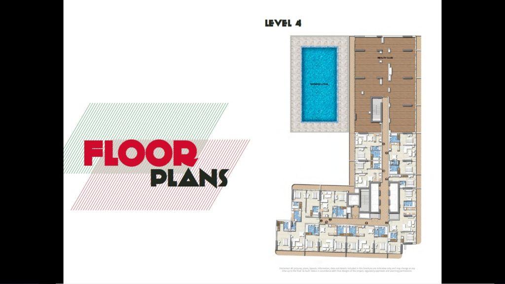 damac Merano floor plan