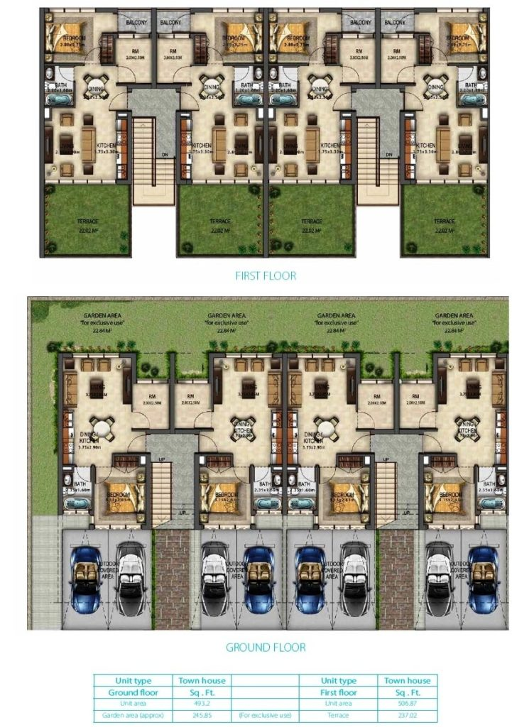 Akoya mod floor plan
