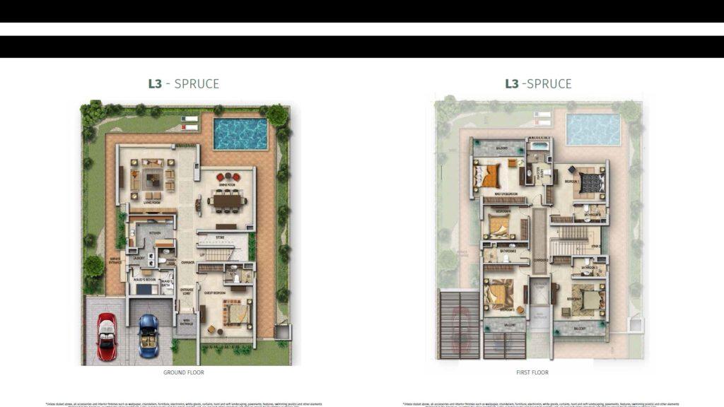 Akoya Oxygen Nova Floor Plan L3 spruce