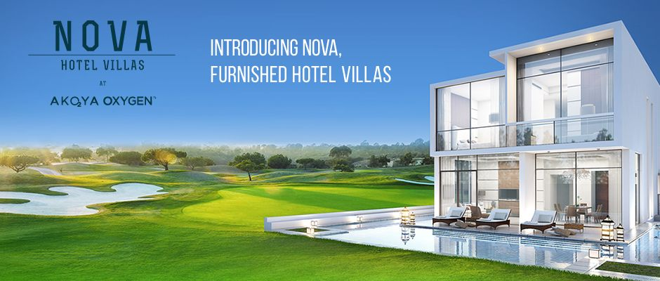 Akoya oxygen Nova furnished villas