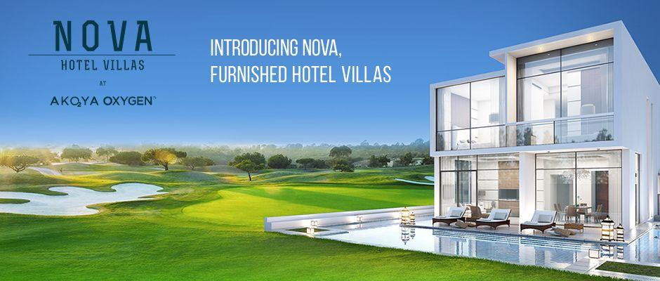 Akoya oxygen Nova furnished villas