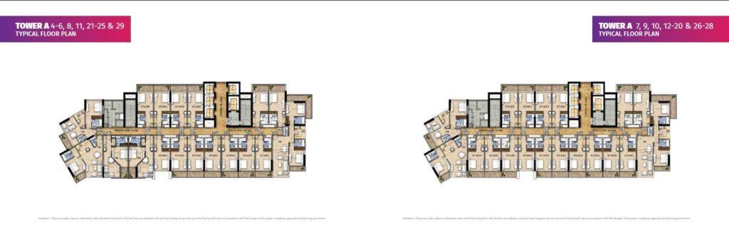 Floor plan Akoya carson