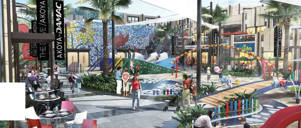 retail project in dubailand