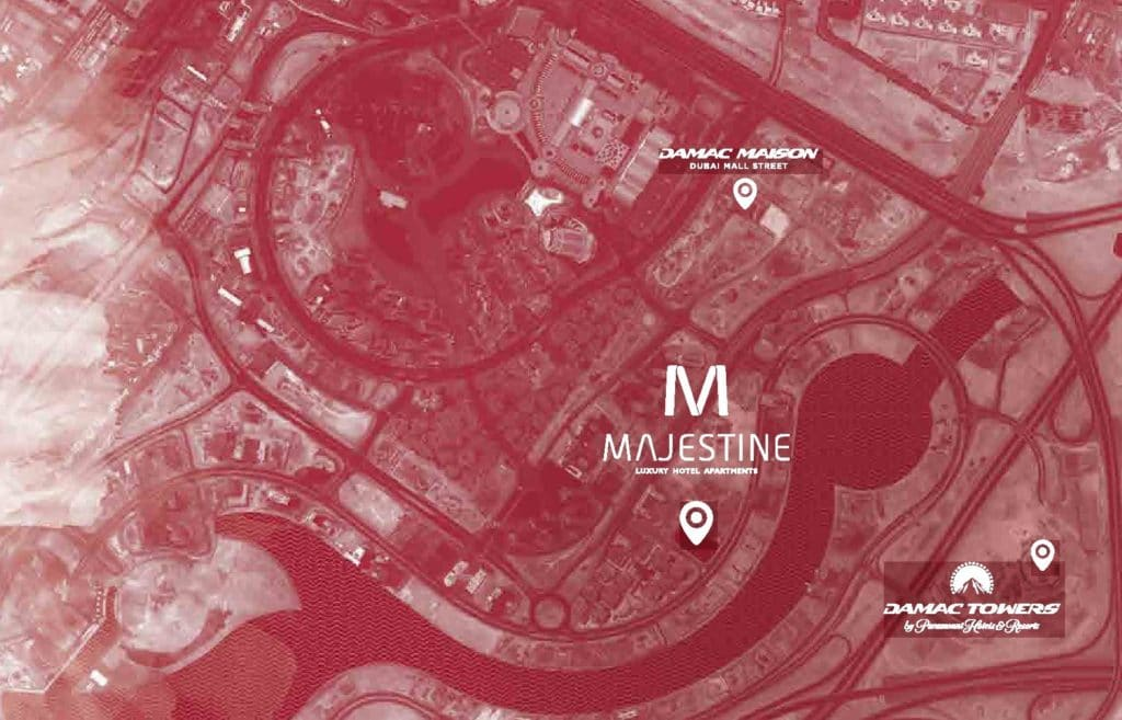 MAJESTINE LOCATION MAP