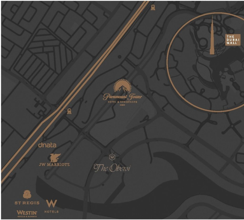 damac parmount tower location