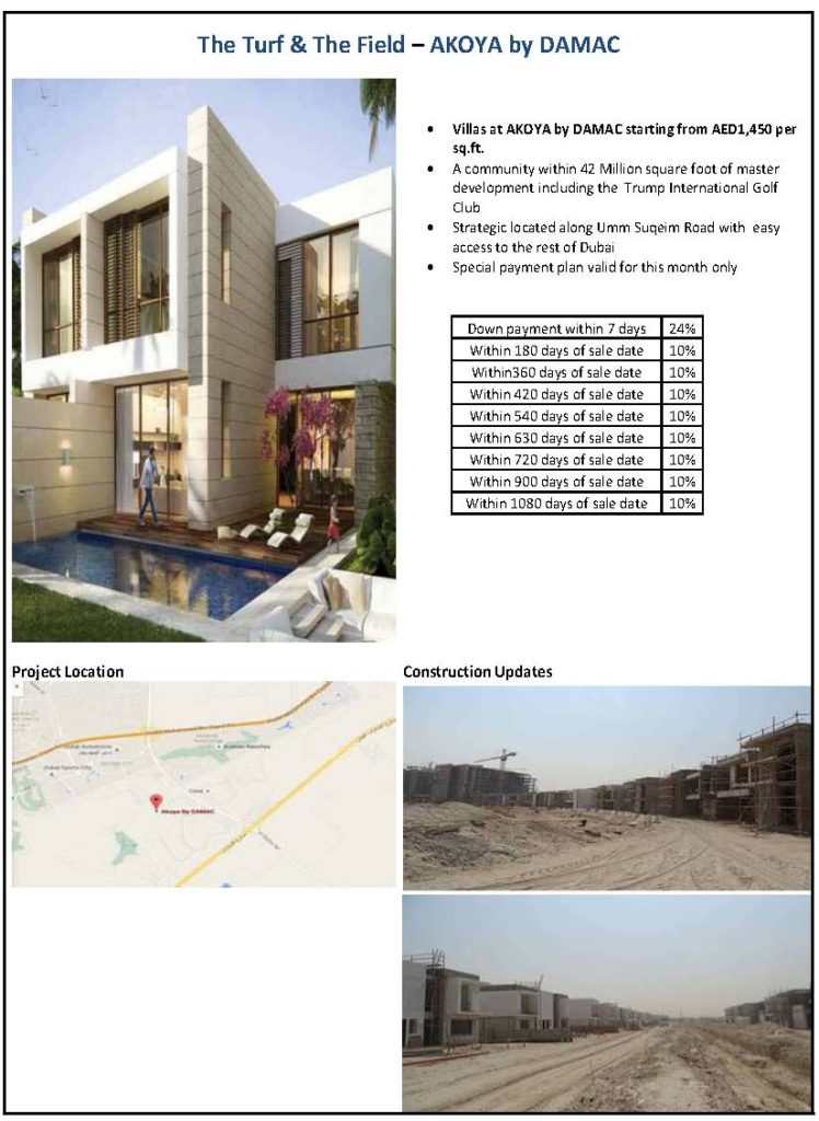 akoya by damac offers