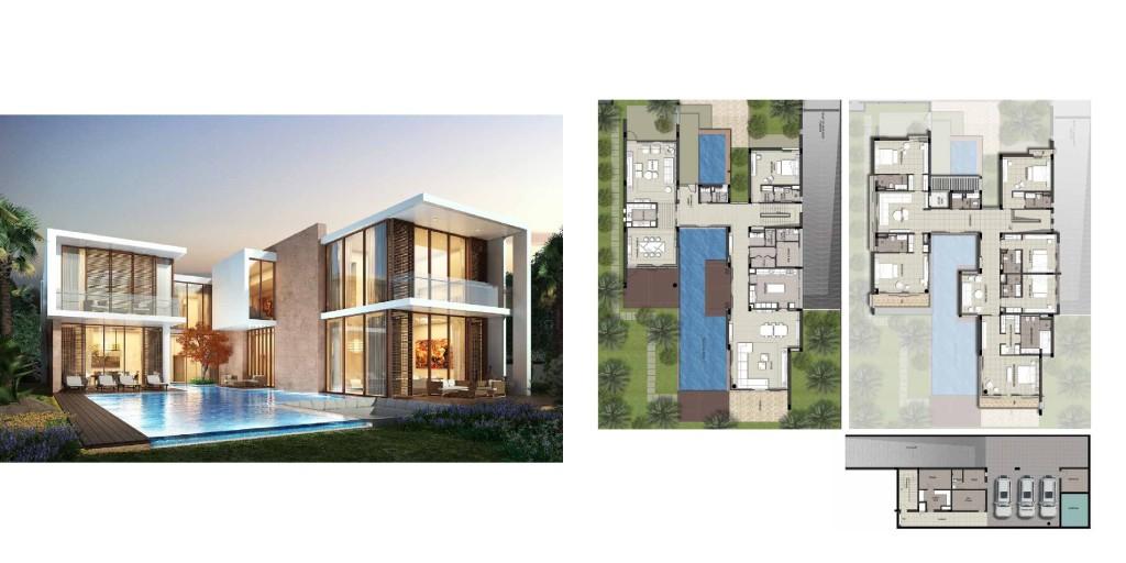 Akoya By Damac Villas construction status