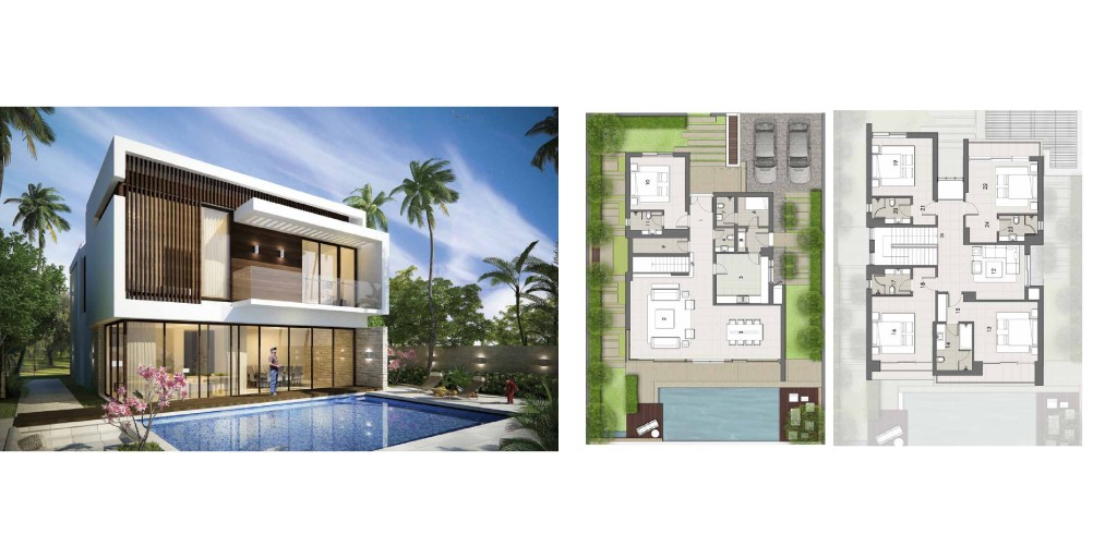 Akoya By Damac trump Villas