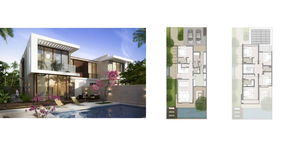 Akoya By Damac fendi styled villas Villas