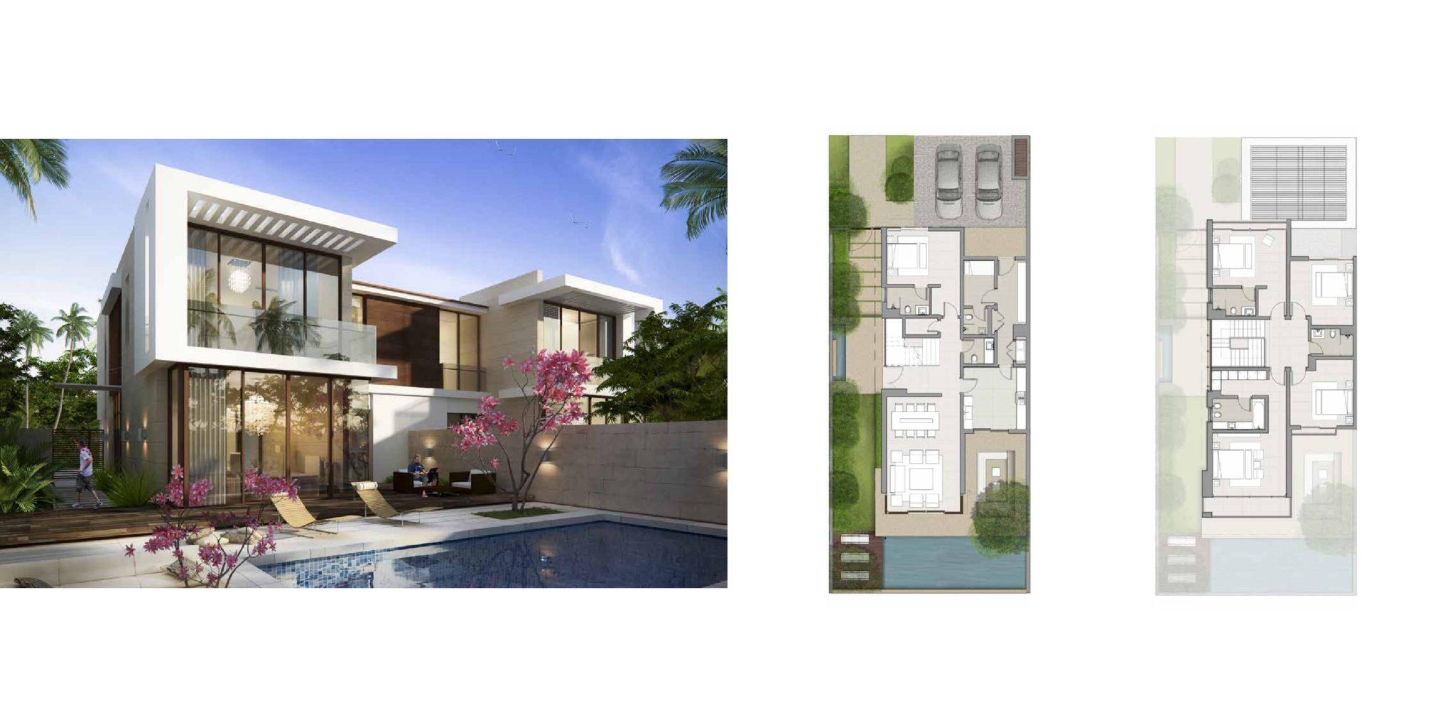 Akoya By Damac fendi styled villas Villas