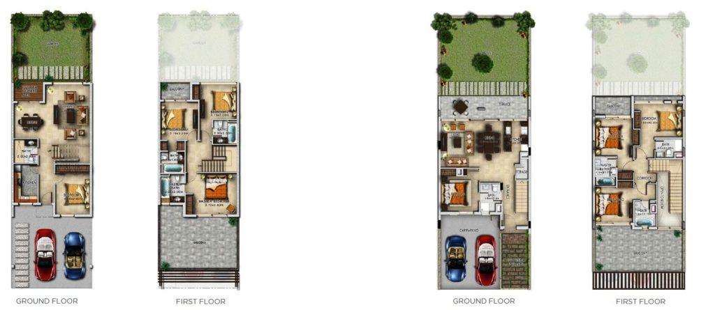 Akoya Cuatro Villas floor plan