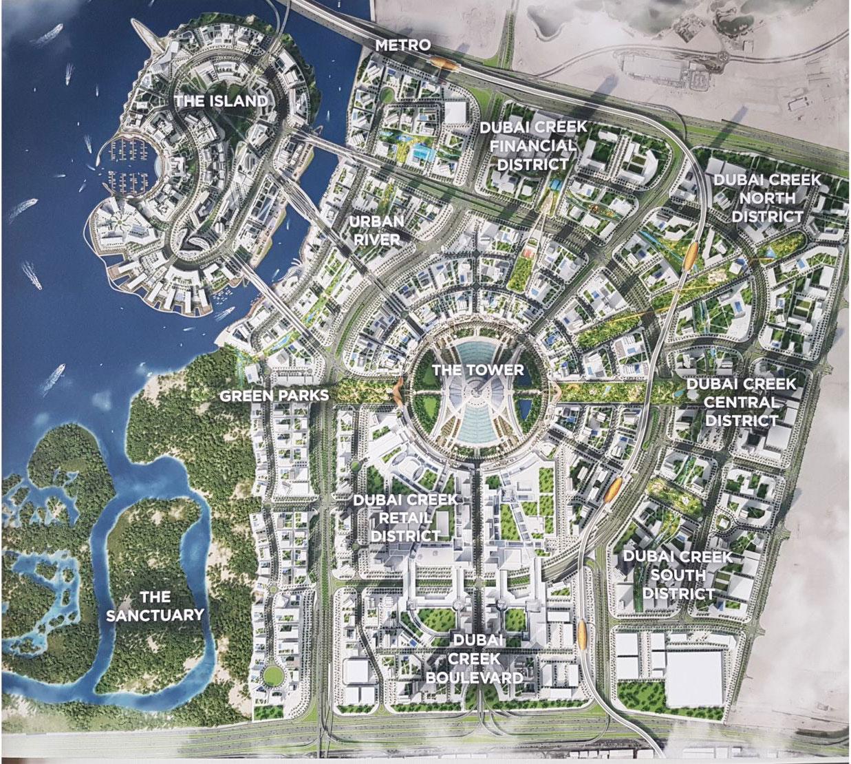 Dubai Creek Harbour Masterplan